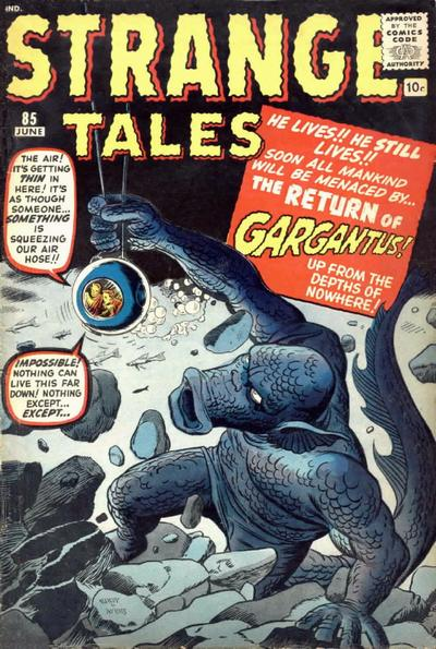 Cover for Strange Tales (Marvel, 1951 series) #85