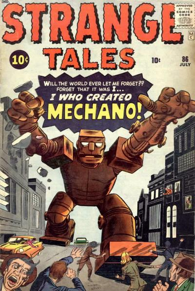 Cover for Strange Tales (Marvel, 1951 series) #86