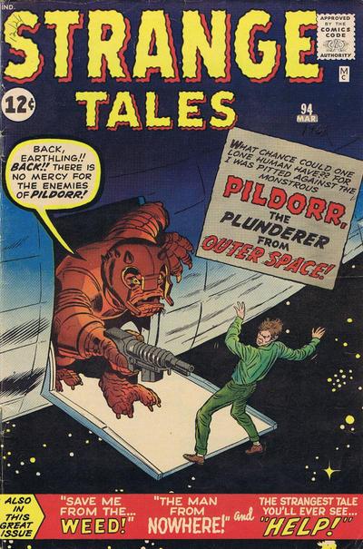 Cover for Strange Tales (Marvel, 1951 series) #94
