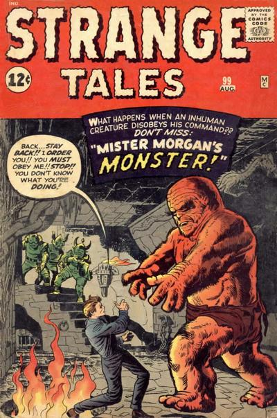 Cover for Strange Tales (Marvel, 1951 series) #99