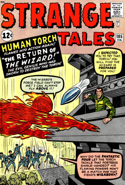 Cover for Strange Tales (Marvel, 1951 series) #105