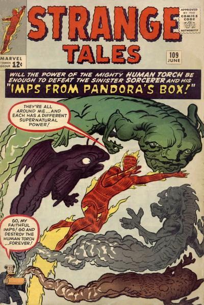 Cover for Strange Tales (Marvel, 1951 series) #109