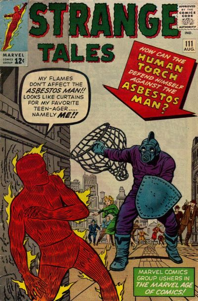 Cover for Strange Tales (Marvel, 1951 series) #111