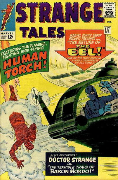 Cover for Strange Tales (Marvel, 1951 series) #117