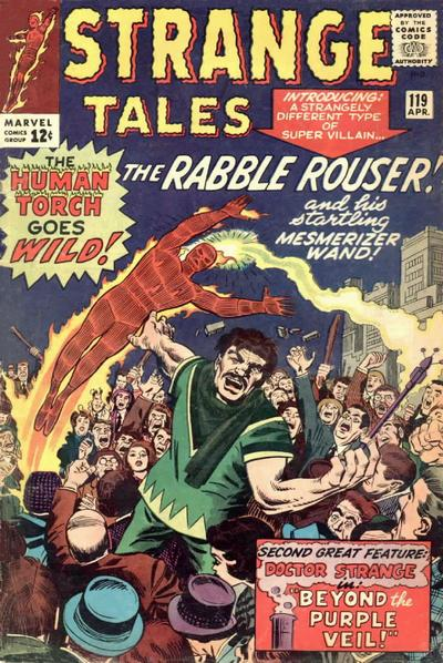 Cover for Strange Tales (Marvel, 1951 series) #119