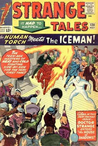 Cover for Strange Tales (Marvel, 1951 series) #120