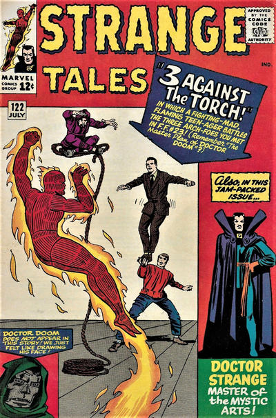 Cover for Strange Tales (Marvel, 1951 series) #122 [Regular Edition]