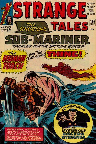 Cover for Strange Tales (Marvel, 1951 series) #125