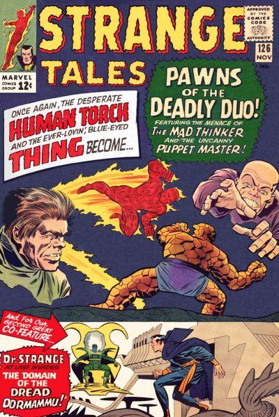 Cover for Strange Tales (Marvel, 1951 series) #126