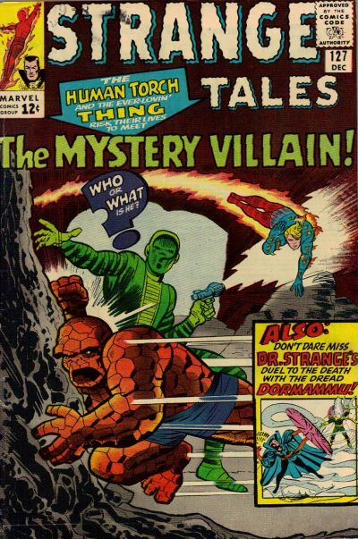 Cover for Strange Tales (Marvel, 1951 series) #127