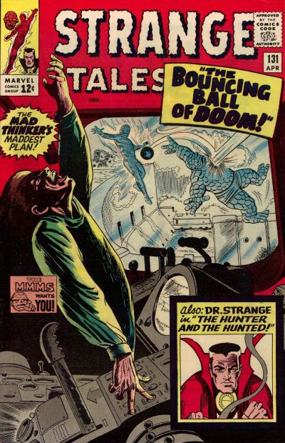 Cover for Strange Tales (Marvel, 1951 series) #131