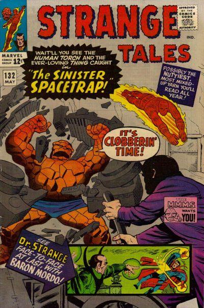Cover for Strange Tales (Marvel, 1951 series) #132
