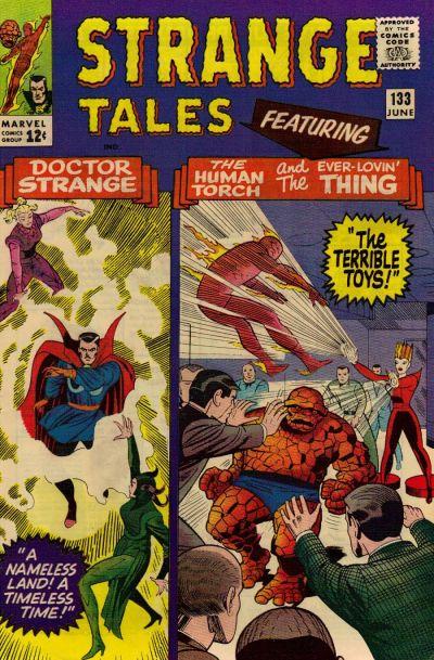 Cover for Strange Tales (Marvel, 1951 series) #133