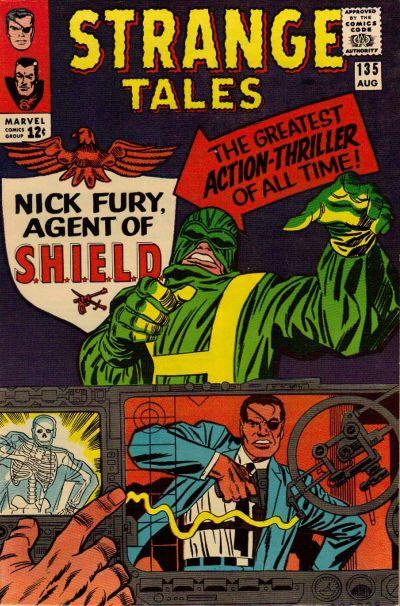 Cover for Strange Tales (Marvel, 1951 series) #135