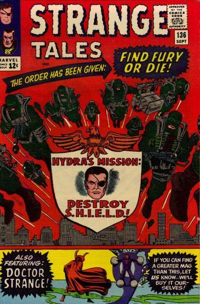 Cover for Strange Tales (Marvel, 1951 series) #136 [Regular Edition]