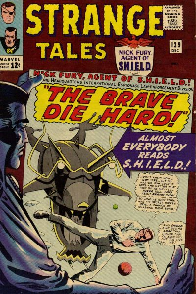Cover for Strange Tales (Marvel, 1951 series) #139 [Regular Edition]