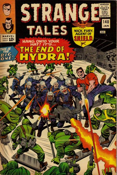 Cover for Strange Tales (Marvel, 1951 series) #140 [Regular Edition]