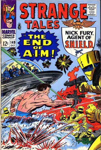 Cover for Strange Tales (Marvel, 1951 series) #149 [Regular Edition]