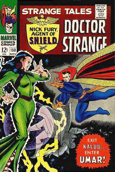 Cover for Strange Tales (Marvel, 1951 series) #150