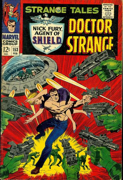 Cover for Strange Tales (Marvel, 1951 series) #153 [Regular Edition]