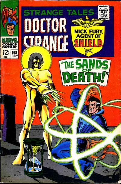 Cover for Strange Tales (Marvel, 1951 series) #158