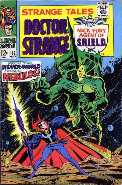 Cover for Strange Tales (Marvel, 1951 series) #162 [Regular Edition]