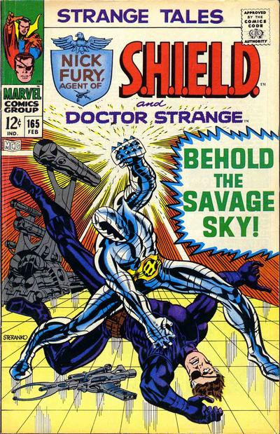 Cover for Strange Tales (Marvel, 1951 series) #165