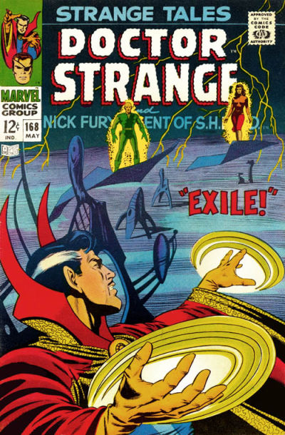 Cover for Strange Tales (Marvel, 1951 series) #168