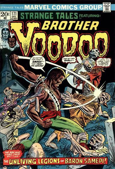 Cover for Strange Tales (Marvel, 1973 series) #171