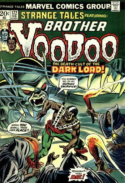 Cover for Strange Tales (Marvel, 1973 series) #172