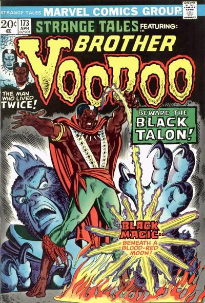 Cover for Strange Tales (Marvel, 1973 series) #173
