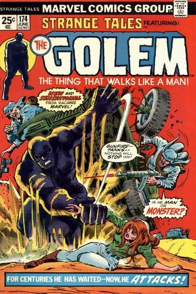 Cover for Strange Tales (Marvel, 1973 series) #174