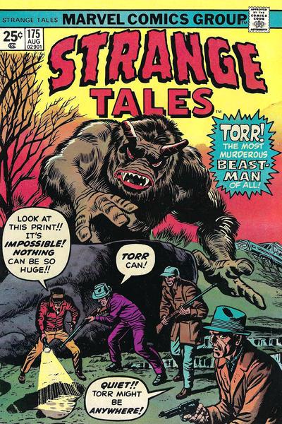 Cover for Strange Tales (Marvel, 1973 series) #175