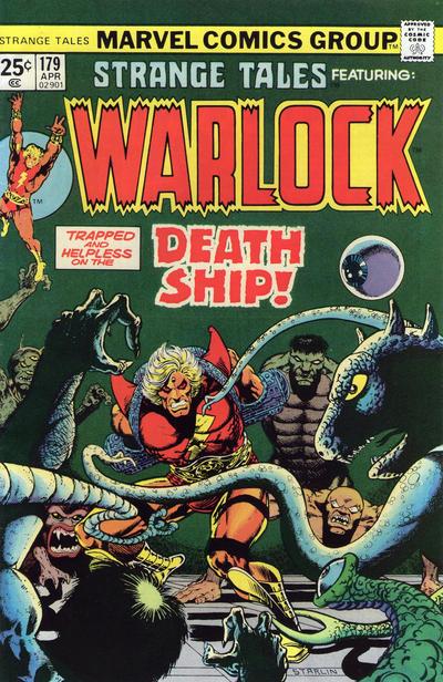 Cover for Strange Tales (Marvel, 1973 series) #179 [British Price Variant]