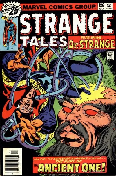 Cover for Strange Tales (Marvel, 1973 series) #186