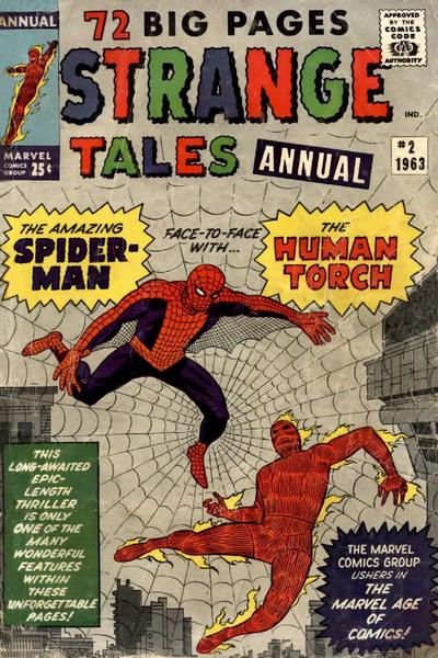Cover for Strange Tales Annual (Marvel, 1962 series) #2
