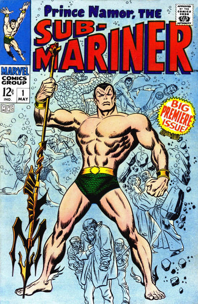 Cover for Sub-Mariner (Marvel, 1968 series) #1