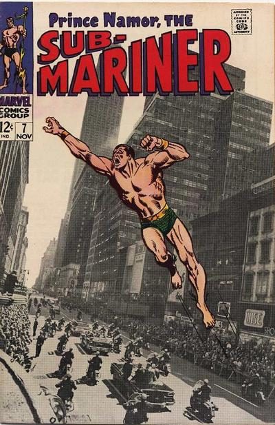 Cover for Sub-Mariner (Marvel, 1968 series) #7