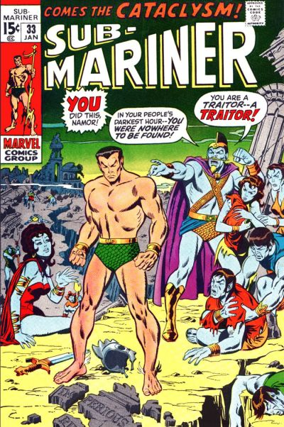 Cover for Sub-Mariner (Marvel, 1968 series) #33