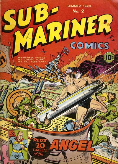 Cover for Sub-Mariner Comics (Marvel, 1941 series) #2