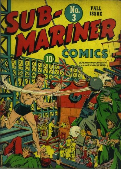 Cover for Sub-Mariner Comics (Marvel, 1941 series) #3
