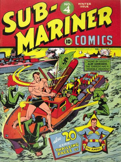 Cover for Sub-Mariner Comics (Marvel, 1941 series) #4