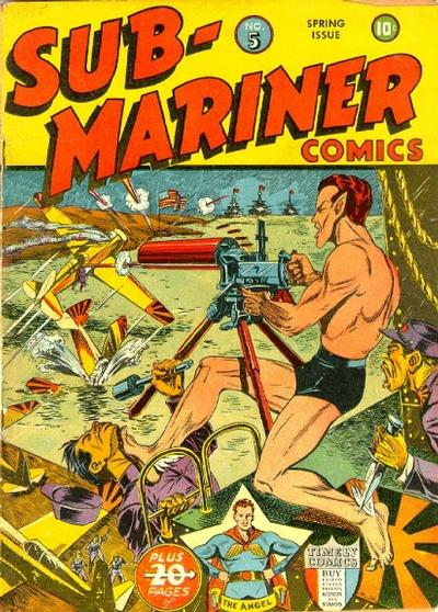 Cover for Sub-Mariner Comics (Marvel, 1941 series) #5