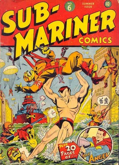 Cover for Sub-Mariner Comics (Marvel, 1941 series) #6