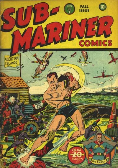 Cover for Sub-Mariner Comics (Marvel, 1941 series) #7