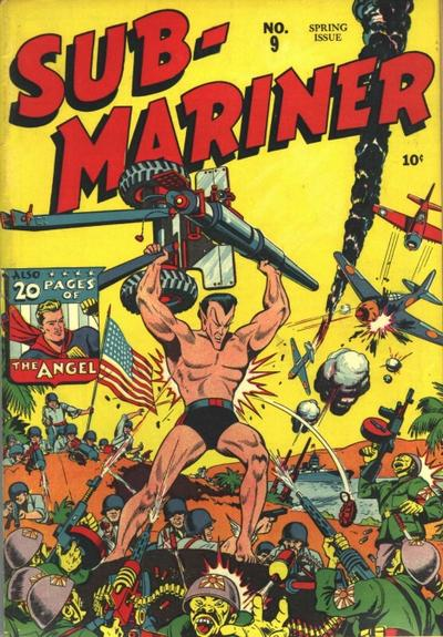 Cover for Sub-Mariner Comics (Marvel, 1941 series) #9