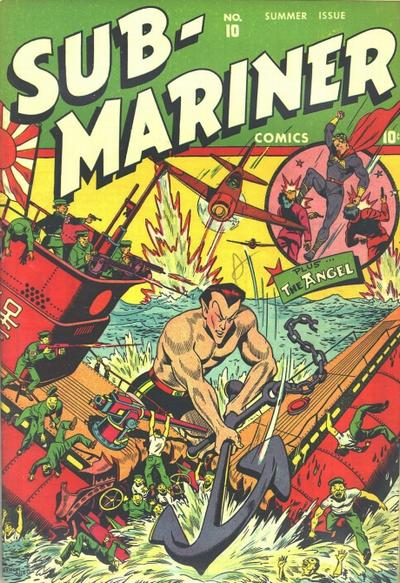 Cover for Sub-Mariner Comics (Marvel, 1941 series) #10