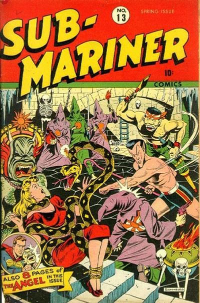 Cover for Sub-Mariner Comics (Marvel, 1941 series) #13