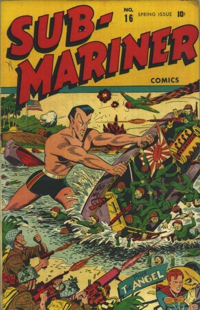 Cover for Sub-Mariner Comics (Marvel, 1941 series) #16