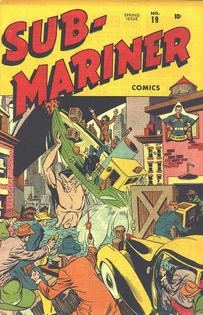 Cover for Sub-Mariner Comics (Marvel, 1941 series) #19